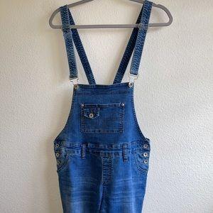 YMI Denim Blue Jean Overalls